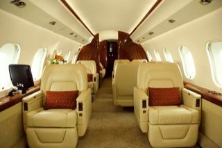фото салона самолёта Global Express XRS